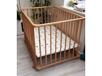 Baby wooden Playden