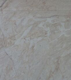 "2 New Bushboard Nuance in ""Ivory Marble"" Design Worktops 3050mm x 600mm x 30mm (10ft x 2ft)"
