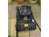 Harrier petrol lawnmower