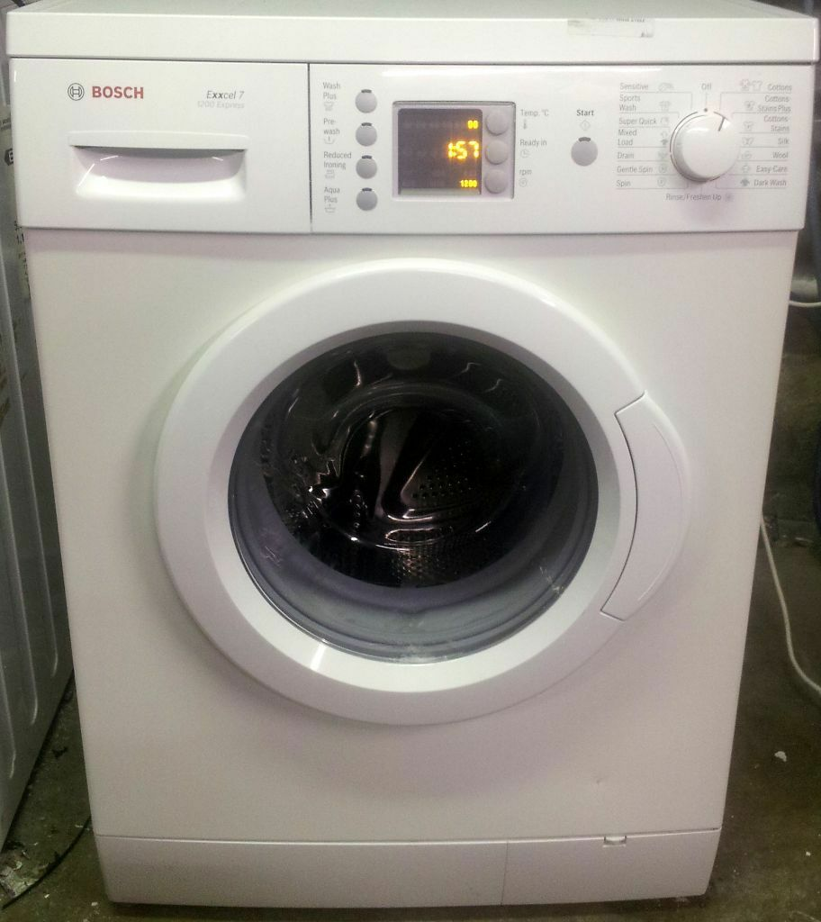 7 kg load bosch exxcel 1200 express washing machine for sale a rated in leyton london - Interesting facts about washing machines ...