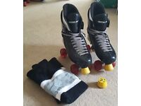 Ventro Pro Quad Skates, size 11 adult.
