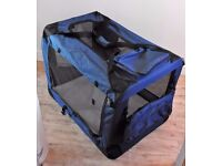 XL Portable Pet Carrier, Travel Kennel, Crate, Cage, Bag Fabric