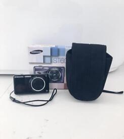 Samsung ST600 Black Digital Smart Camera W/ Accessories