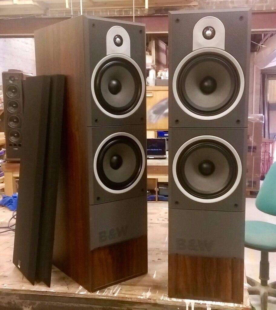 B Amp W Dm580 Floorstanding Speakers Bowers Amp Wilkins In