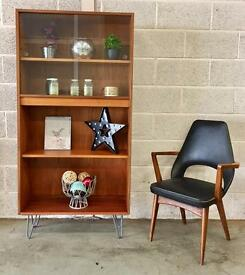 G Plan Teak Retro Vintage bookshelf display unit
