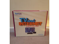 "New YOUVIEW TALKTALK HUAWEI BOX DN372T plus amplified indoor antenna ""August"" DTA300"