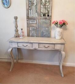 French vintage chic painted sideboard
