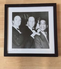 Rat Pack Black & White Picture