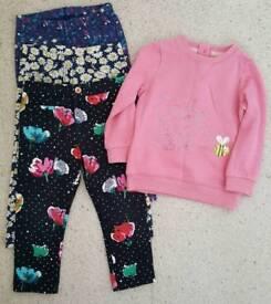 Girls clothing bundle Age 2-3