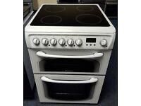 Hotpoint 60cm Cooker - 12 Months Warranty - £190
