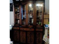 Large mahogany dresser - £200