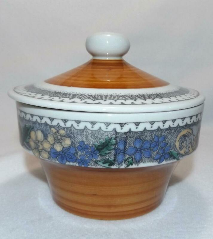 Vintage Goebel Burgand Country Individual Casserole/Bean Pot Lid 12oz Germany