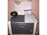 Colour Laser Wireless Printer (Brother) + Toner Cartridge Colour Set (new)