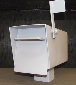 """Steel 1/8"""" plate baseball bat proof mailboxes for sale"""