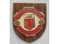 Wanted Man Utd Football Memorabilia