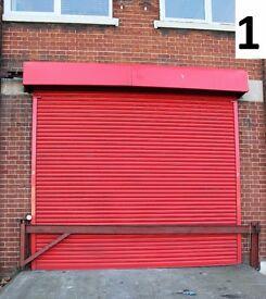 GALVANISED STEEL SECURITY BARRIER / ROAD CAR PARK BARRIER / ANTI RAM GATE / 4.5m