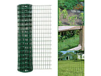 High Durable Pvc metal euro fence Simpa 1mx10m and Hanging Pot Rack By Symple Stuff (RRP) £74.99