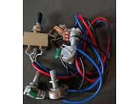 Les Paul Wiring Harness, Guitar Wiring