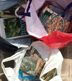 3 BAGS OF READING BOOKS
