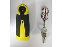 ABUS Alarm Disclock Disc Lock RRP £120! Motorcycle **Insurance Approved!** Mountain Bike Motorbike
