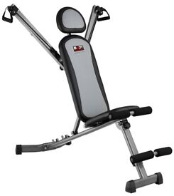 NEW Multi Gym Foldable Exercise Bench In Box & With DVD