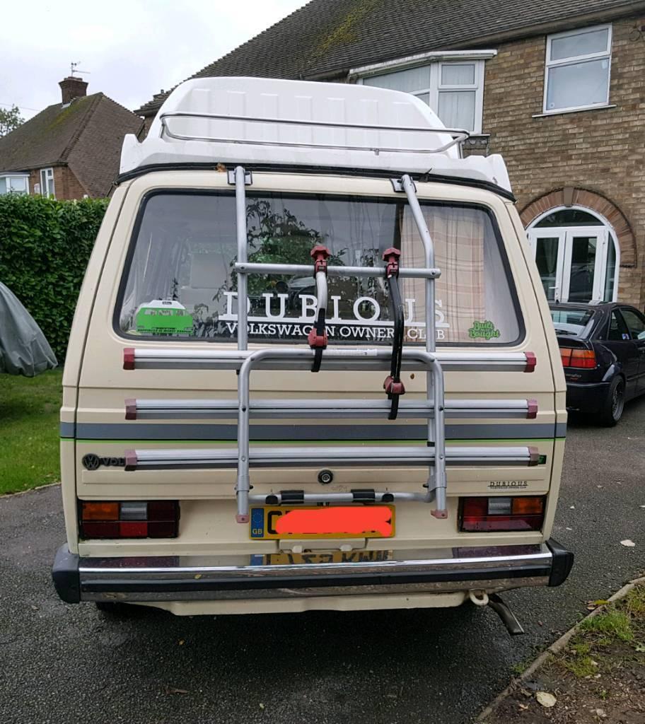 VW T25 T3 Fiamma bike rack