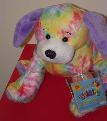 Webkinz TIE DYED PUPPY Dog NEW * SEALED CODE TAG * Very Hard to Find *