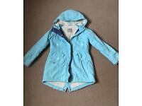 Girls next warm winter coat 9/10y