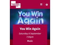 You Win Again Bee Gees tribute on 8th September at Nottingham Royal Concert Hall