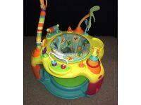 Bright starts safari bounce & round activity station