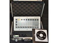 Use Audio Plugiator desktop synth - with case.