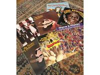 Various records. Vinyl