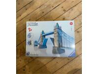 12559 Ravensburger Tower Bridge of London Building 3D Puzzle 216pc [3D JIGSAW ]