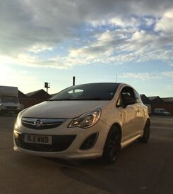 2011 11 Vauxhall Corsa 1.2 16v Limited Edition 3DR A/C *FSH/HPi Clear/1 Owner* VXR ARTIC WHITE