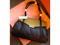 NEW - Radley Farrow Bag - labels/dustbag - unwanted gift