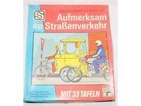 """DDR Spiel """"Aufmerksam im Strassenverkehr"""" aus den 70er Jahren Hessen - Bad Nauheim Vorschau"""