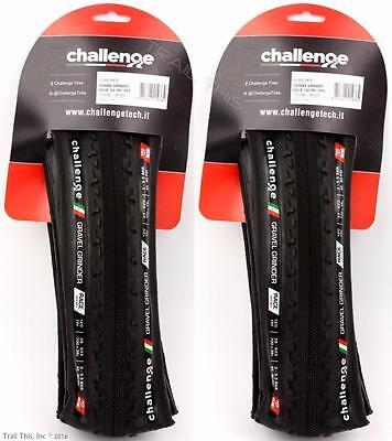2 X Challenge Gravel Grinder Race 700X38 Folding Clincher Bike Tires Cx  1 Pair