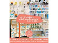 Art & Markers Market - Summer 2018 - Bournemouth