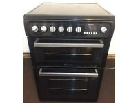 Hotpoint Black electric cooker 60cm wide