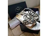 Genuine ladies Prada sandals size UK 5