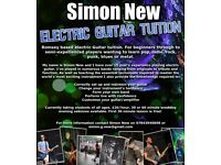 Romsey based electric guitar tutor