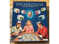 1987 PSYCHOLOGIZER BOARD GAME FOR THE PEOPLE WATCHER IN ALL OF US. COMPLETE.