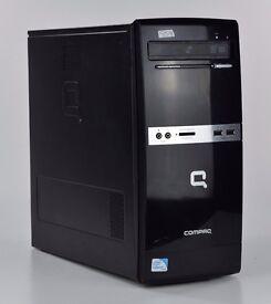WINDOWS 7 COMPAQ 500B INTEL DUAL CORE 2.40 TOWER PC COMPUTER - 2GB RAM - 80GB