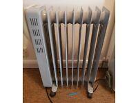 4x oil filled radiators