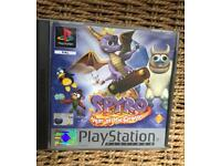 PlayStation 1 spyro the dragon game. Ps1