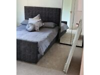 King-size bed & Mattress