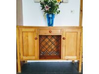 Solid pine sideboard/cabinet