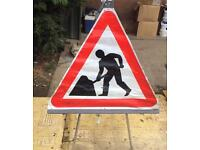 Road work signs (Temporary Fold-Up)