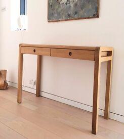HABITAT OAK Radius Dressing Room / Hallway Table