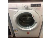 HOOVER 8kg WASHING MACHINE NEW DISPLAY MODEL FREE DELIVERY AND WARRANTY